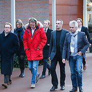 NLD/Drievliet/20130104 - Uitvaart Arend Langeberg, collega's
