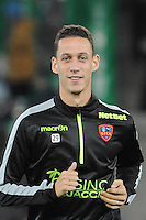 Alexandre COEFF - 17.10.2015 - Saint Etienne / Gazelec Ajaccio - 10eme journee de Ligue1<br /> Photo : Jean Paul Thomas / Icon Sport