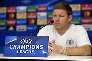 RSC Anderlecht Press Conference - 17 October 2017