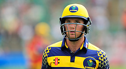 Colin Ingram of Glamorgan walks off after being dismissed.  - Mandatory by-line: Alex Davidson/JMP - 24/07/2016 - CRICKET - Cooper Associates County Ground - Taunton, United Kingdom - Somerset v Glamorgan - Royal London One Day