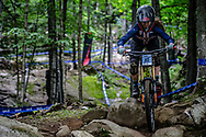 PARHAM Autumn (USA) at the Mountain Bike World Championships in Mont-Sainte-Anne, Canada.