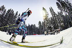 March 8, 2019 - –Stersund, Sweden - 190308 Seonsu Kim of Korea Republic competes in the Women's 7.5 KM sprint during the IBU World Championships Biathlon on March 8, 2019 in Östersund..Photo: Petter Arvidson / BILDBYRÃ…N / kod PA / 92247 (Credit Image: © Petter Arvidson/Bildbyran via ZUMA Press)