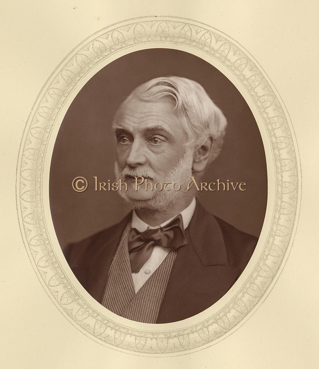 'John James Manners (1818-1906) c1878, English Conservative politician,  as second son of the 5th Duke of Rutland he was known as Lord John Manners. Postmaster General 1874-1880 and 1885-1886.'