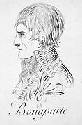 Napoleon Bonaparte (1769-1821). Engraving.