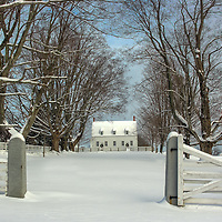The Meeting House in Winter
