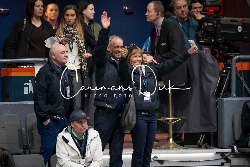 Fuchs Renate, Fuchs Thomas, Balerie Luigi, SUI, owner Clooney<br /> LONGINES FEI World Cup™ Finals Gothenburg 2019<br /> © Hippo Foto - Dirk Caremans<br /> 07/04/2019