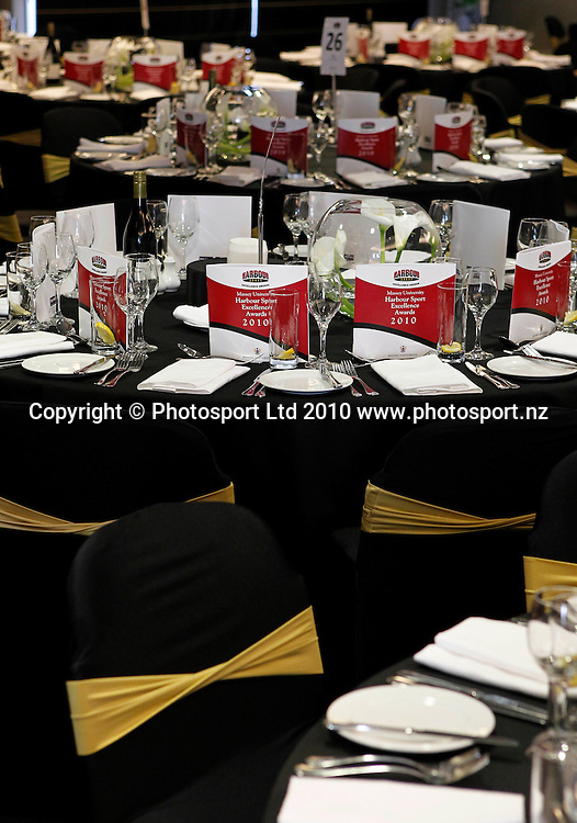 Massey University Harbour Sports Excellence Awards, Spencer on Byron, Takapuna, Auckland, Friday 12 November 2010. Photo: Simon Watts/photosport.co.nz
