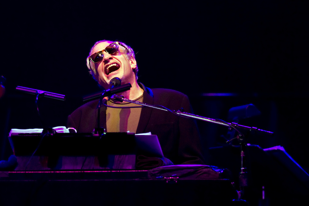 Donald Fagen of Jazz Rock Icons Steely Dan performs live in concert, Vector Arena, Auckland, New Zealand, Friday, November 04, 2011.   Credit:SNPA / David Rowland