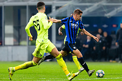 November 26, 2019, Milano, Italy: mario pasalic (atalanta)during Tournament round - Atalanta vs Dinamo Zagreb , Soccer Champions League Men Championship in Milano, Italy, November 26 2019 - LPS/Francesco Scaccianoce (Credit Image: © Francesco Scaccianoce/LPS via ZUMA Wire)
