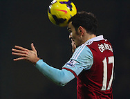 Picture by David Horn/Focus Images Ltd +44 7545 970036<br /> 23/11/2013<br /> Joey O'Brien of West Ham United during the Barclays Premier League match at the Boleyn Ground, London.
