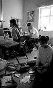staff at the factory records offices in palatine road manchester