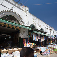 Shops in the medina souk, Tetouan, Morocco