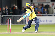Jeetan Patel of the Birmingham Bearsduring the Vitality T20 Blast North Group match between Lancashire Lightning and Birmingham Bears at the Emirates, Old Trafford, Manchester, United Kingdom on 10 August 2018.