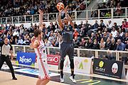 Joao Gomes<br /> Dolomiti Energia Aquila Basket Trento - Consultinvest Victoria Libertas Pesaro<br /> Lega Basket Serie A 2016/2017<br /> Trento, 26/03/2017<br /> Foto Ciamillo - Castoria