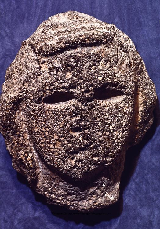 Lihyanite head of basalt from al-Is (Yenbo) 4th to 3rd c. B.C.