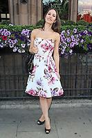 LONDON - JULY 20: Freya Berry attended The Kensington Club launch, High Street Kensington, London, UK. July 20, 2012. (Photo by Richard Goldschmidt)