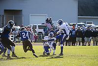 NHIAA semi final football Interlakes versus Winnisquam.  Karen Bobotas for the Laconia Daily Sun