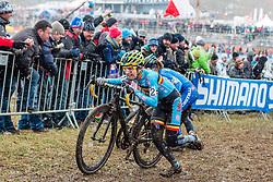 Jolien Verschueren (BEL), Women Elite, Cyclo-cross World Championships Tabor, Czech Republic, 31 January 2015, Photo by Pim Nijland / PelotonPhotos.com