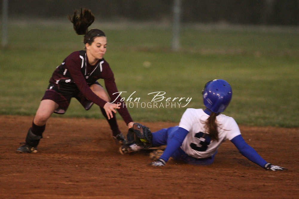 MCHS Varsity Softball .vs Luray .3/21/2009