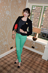 JASMINE GUINNESS at the Blue Monday Cheese Launch presented by Alex James and held at The Cadogan Hotel, Sloane street, London on 11th June 2013.