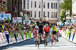 Luka Mezgec (SLO) of Mitchelton - Scott winner of 2nd Stage of 26th Tour of Slovenia 2019 cycling race between Maribor and Celje (146,3 km), on June 20, 2019 in Slovenia.. Photo by Matic Klansek Velej / Sportida