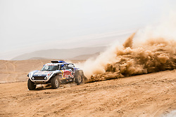 Carlos Sainz (ESP) of X-raid MINI JCW Team races during stage 04 of Rally Dakar 2019 from Arequipa to o Tacna, Peru on January 10, 2019 // Marcelo Maragni/Red Bull Content Pool // AP-1Y39E996W1W11 // Usage for editorial use only // Please go to www.redbullcontentpool.com for further information. //