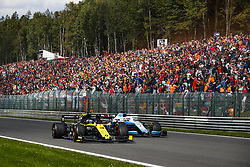 September 1, 2019, Spa-Francorchamps, Belgium: Motorsports: FIA Formula One World Championship 2019, Grand Prix of Belgium, ..#3 Daniel Ricciardo (AUS, Renault F1 Team), #63 George Russell (GBR, ROKiT Williams Racing) (Credit Image: © Hoch Zwei via ZUMA Wire)