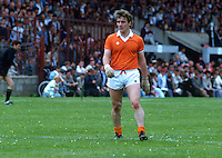 Denis Seeley, county footballer, GAA,  Armagh, N Ireland, 19850705DS2..Copyright Image from Victor Patterson, 54 Dorchester Park, Belfast, UK, BT9 6RJ..Tel: +44 28 9066 1296.Mob: +44 7802 353836.Voicemail +44 20 8816 7153.Skype: victorpattersonbelfast.Email: victorpatterson@me.com.Email: victorpatterson@ireland.com (back-up)..IMPORTANT: If you wish to use this image or any other of my images please go to www.victorpatterson.com and click on the Terms & Conditions. Then contact me by email or phone with the reference number(s) of the image(s) concerned.