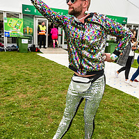 "REPRO FREE<br /> Joe 'Cheesy' Cheeseman of the Disco Balls team, Brighton pictured at the 30th Anniversary Heineken Kinsale 7s at the weekend. <br /> Picture. John Allen<br /> <br /> PRESS RELEASE<br /> For Immediate Release: <br /> <br /> 30th ANNIVERSARY HEINEKEN KINSALE 7s KICKS OFF<br /> The Heineken Kinsale 7s take place in Kinsale over the May Bank Holiday weekend, 5th & 6th May 2018. This is Ireland's largest rugby 7s tournament and builds on its success each year, with over 8,000 visitors expected in the Cork seaside town.<br /> The Heineken Kinsale 7s promises to be an action-packed weekend of competitive men and women's running rugby for an attractive prize fund, trophies and medals. A high calibre of rugby players across all competitions is anticipated as well as a fun social programme. <br /> Mens Elite Champions, Projecx Waterboys from Scotland return to Kinsale to defend their title. They will compete against the Swedish Men's 7s, Speranza 22 from Dubai, The Camarthen Warriors and Ponty Butchers from Wales, CLIC Sargent Godfathers from London and University College Dublin.<br /> In Men's Open competition, The King Prawns from London are defending their title against challengers Fuze 7s, Session Motts and DISCO Bals will be challenging defending champions <br /> Former Irish International, Tania Rosser returns as player/manager for the WRR Ravens invitational side who will be looking forward to challenging The Ponty Butchers Women's team from Wales, contenders in the women's elite competition sponsored by Hayes Caravan Services.  Other women's teams include Team Boom, The All Craics, Capsized and the Ballincollig Pink Ladies who enjoy the women's social competition.<br /> Pat Maher, Event and Sponsorship Manager, Heineken Ireland said: ""We are delighted to continue our support and sponsorship of the Heineken Kinsale 7s and look forward to celebrating the 30th Anniversary in Kinsale with top-quality competitive rugby. We thank everyone involved in Kinsale RFC for their foresight, courage and wisdom to stage a"