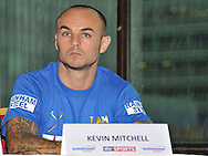 Picture by Alan Stanford/Focus Images Ltd +44 7915 056117<br />03/10/2013<br />Kevin Mitchell pictured during a Matchroom Sports press conference at International Hotel, Canary Wharf, London.