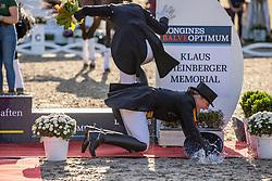 WERTH Isabell (GER)<br /> Siegerehrung/Meisterehrung<br /> Deutsche Meisterschaft der Dressurreiter<br /> Klaus Rheinberger Memorial<br /> Nat. Dressurprüfung Kl. S**** - Grand Prix Special<br /> Balve Optimum - Deutsche Meisterschaft Dressur 2020<br /> 19. September2020<br /> © www.sportfotos-lafrentz.de/Stefan Lafrentz