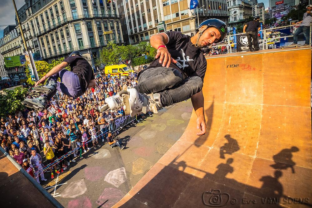 Zot Day 2016 - Dimanche sans voiture à Bruxelles. Kevin MARRON LOPEZ