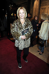 MARIELLA FROSTRUP at the Cirque du Soleil's gala premier of Quidam held at the Royal Albert Hall, London on 6th January 2009