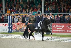 Rath Matthias Alexander, (GER), Totilas<br /> Grand Prix Special<br /> CDIO Hagen 2015<br /> © Hippo Foto - Stefan Lafrentz