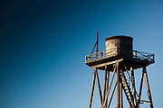 Water tower in Mendocino