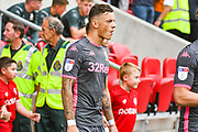 Ben White of Leeds United (5) during the EFL Sky Bet Championship match between Bristol City and Leeds United at Ashton Gate, Bristol, England on 4 August 2019.
