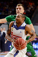 Real Madrid's XXX and Unicaja Malaga's XXX during semi finals of playoff Liga Endesa match between Real Madrid and Unicaja Malaga at Wizink Center in Madrid, June 02, 2017. Spain.<br /> (ALTERPHOTOS/BorjaB.Hojas)