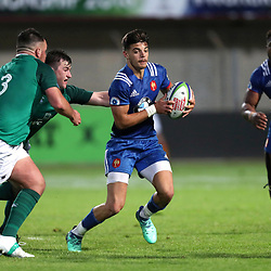 Romain NTamack N'Tamack of France U20  during the U20 World Championship match between France and Ireland on May 30, 2018 in Perpignan, France. (Photo by Manuel Blondeau/Icon Sport)