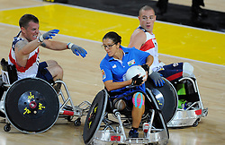 Italy v USA  - Photo mandatory by-line: Joe Meredith/JMP - Mobile: 07966 386802 - 12/09/2014 - The Invictus Games - Day 2 - Wheelchair Rugby - London - Copper Box Arena