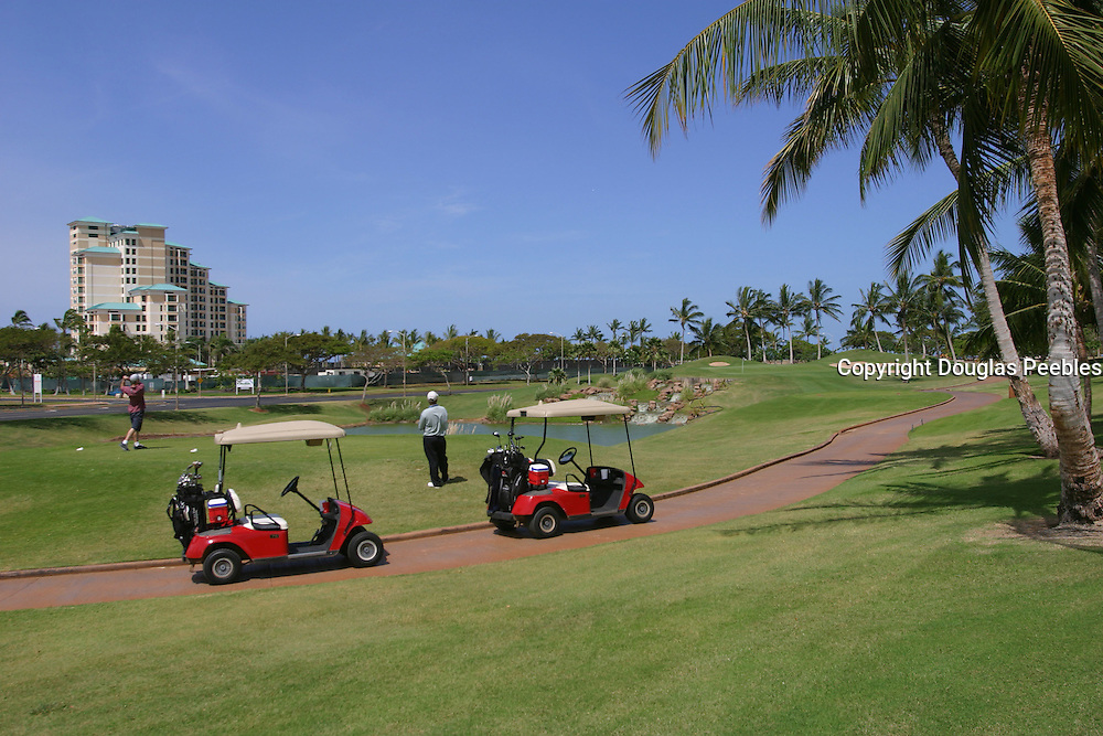 Golf Course, KoOlina Resort, Oahu, Hawaii<br />