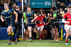 Jake Leonard (Worcester Sixth Form College) of Worcester Warriors U18 - Rogan Thomson/JMP - 16/02/2017 - RUGBY UNION - Sixways Stadium - Worcester, England - Worcester Warriors U18 v Saracens U18 - Premiership Rugby Under 18 Academy Finals Day 5th Place Play-Off.