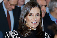 121019 Queen Letizia meeting at the FAD (Federation of help against the drug addiction)