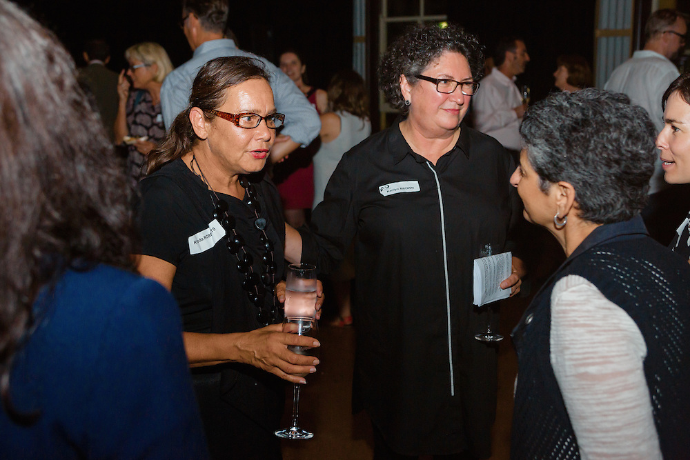Images of the Performing Lines 2016 season launch event, held at the Drill Hall in Darling Point, New South Wales. Guest speakers and performers included Rhoda Roberts, Sue Healey, Ghenoa Gela and Billy MacPherson. Images taken by Robert Catto on Thursday 21  April, 2016.