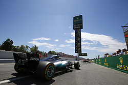 May 14, 2017 - Barcelona, Spain - Motorsports: FIA Formula One World Championship 2017, Grand Prix of Spain, .#44 Lewis Hamilton (GBR, Mercedes AMG Petronas F1 Team) (Credit Image: © Hoch Zwei via ZUMA Wire)