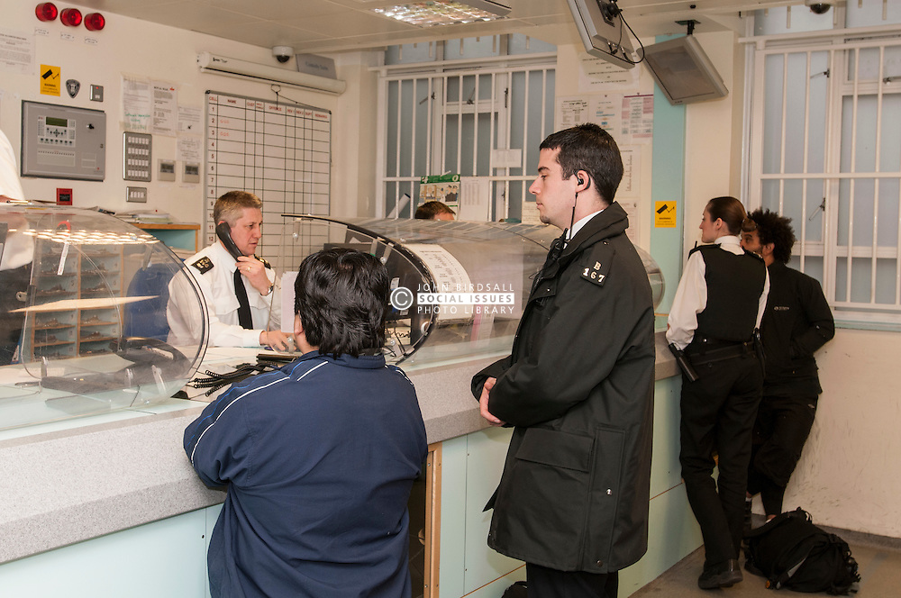 Suspects in Bishopsgate Police Station, City of London