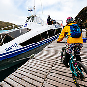 Riding Las Carretas to Paine Grande and grabbing a ferry to the finish line.