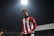 John Swift walks back after his disappointing ball into the area during the Sky Bet Championship match between Brentford and Hull City at Griffin Park, London, England on 3 November 2015. Photo by Michael Hulf.