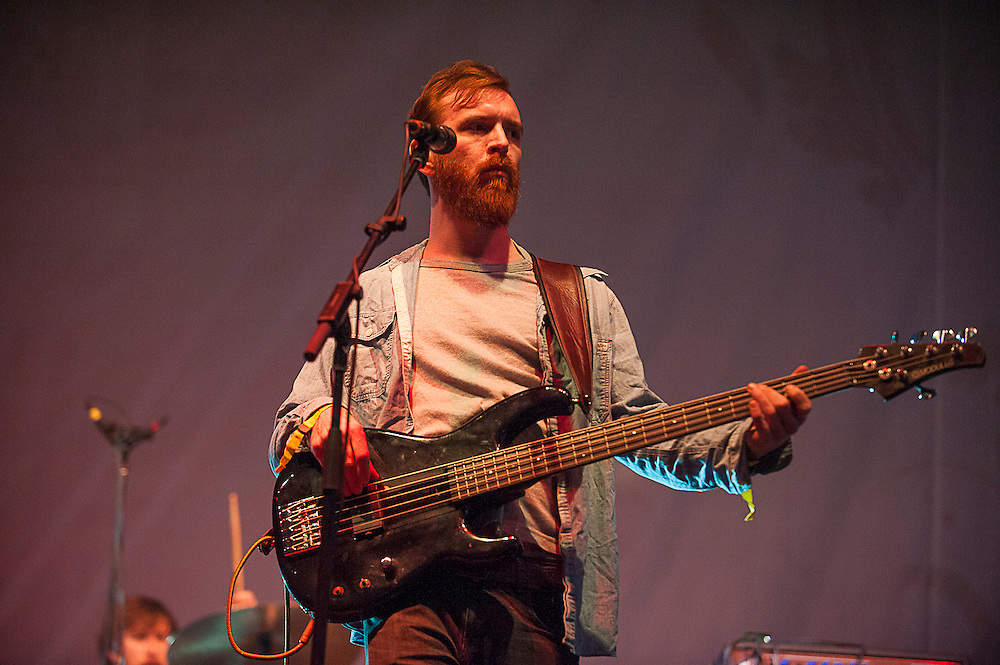 Moon Taxi performs at the 2013 Voodoo Music + Arts Experience at City Park on Sunday November 3, 2013 in New Orleans, Louisiana.