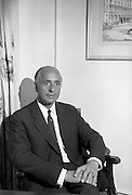31/7/1964<br /> 07/31/1964<br /> 31 July 1964<br /> <br /> Mr. L.O. Sullvan sitting for a photgraph at the Gresham Hotel