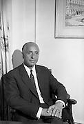 31/7/1964<br /> 07/31/1964<br /> 31 July 1964<br /> <br /> Mr. L.O. Sullvan sitting for a photgraph at the Gresham Hotel